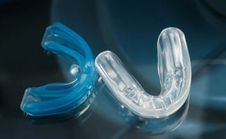 Mouthguards used to protect dental implants in Ocala